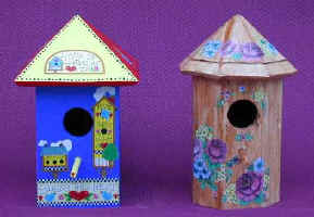 Make any Gazebo Bird House you like with my Compound Miter Angle Cuts information.
