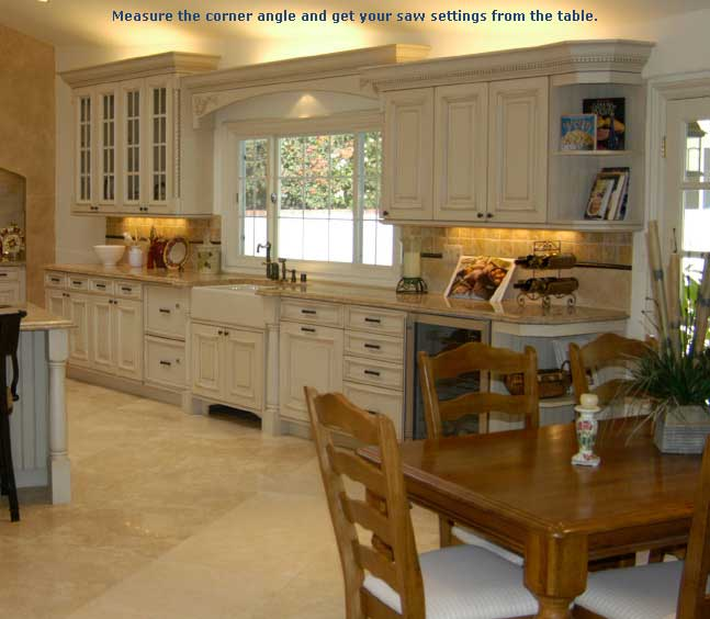 How To Install Crown Molding On Kitchen Cabinets: Installing Crown Molding On Kitchen Cabinets
