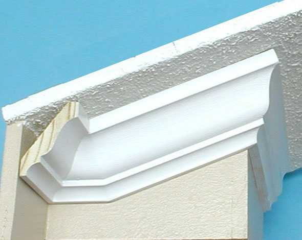 Crown Molding On A Slanted Ceiling
